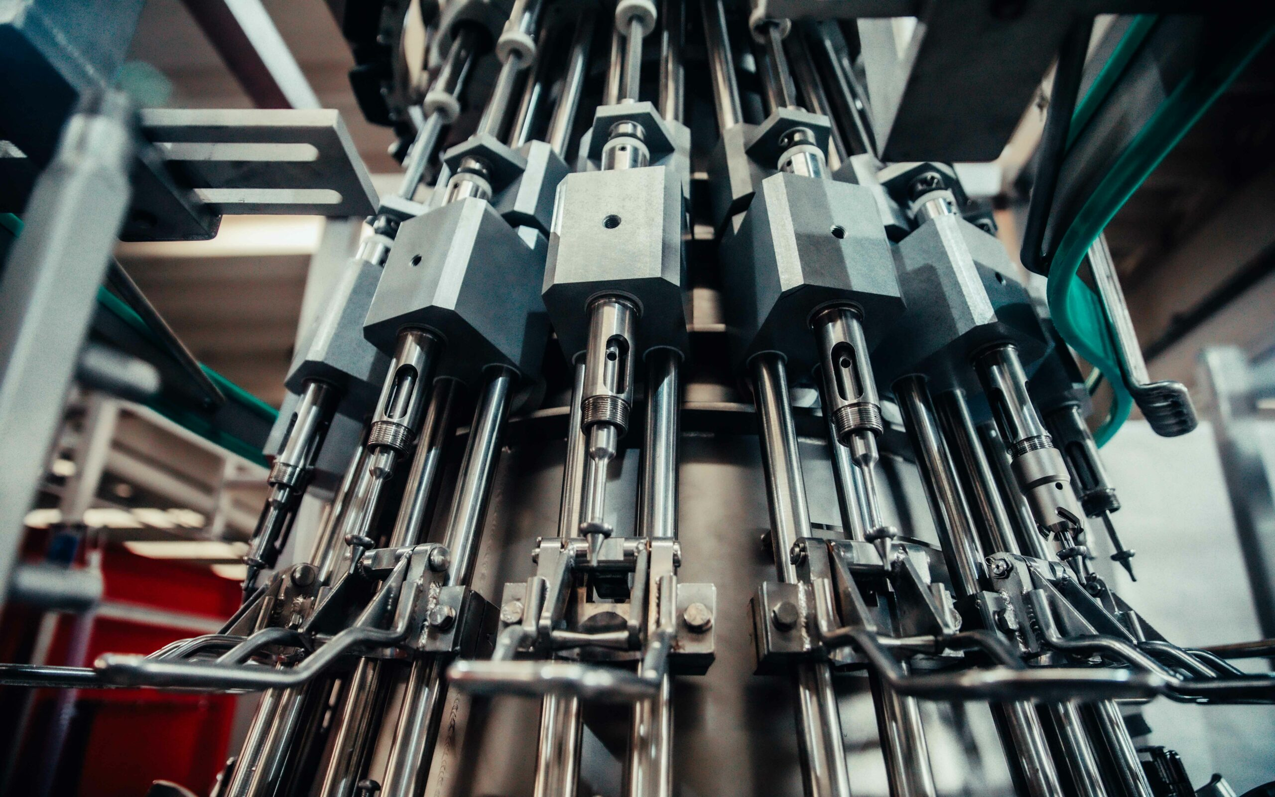 macchina eviscerazione in produzione